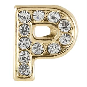 Picture of Gold 'P' Charm