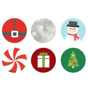 Picture of Holiday Medium Locket Backdrops